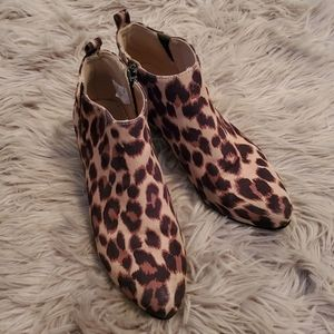 Old Navy Leopard Boots